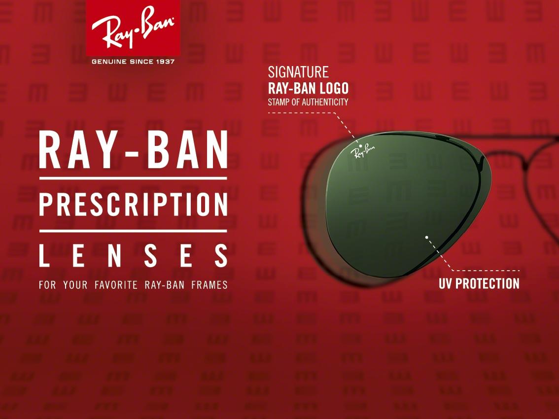 Ray-Ban dioptriás napszemüveg